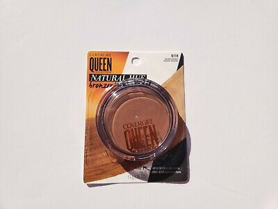 Covergirl Queen Collection Q110 Natural Hue Bronzer Brown Bronze