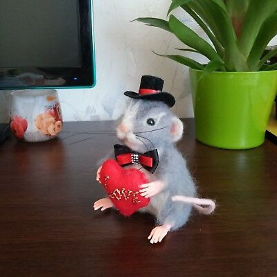 decorative toy gentleman mouse