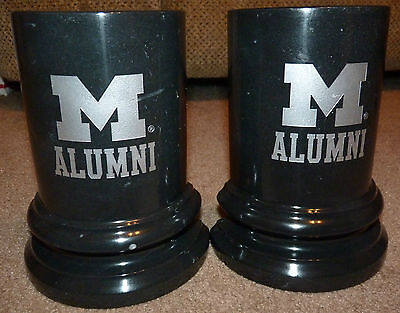 Marble Block M Alumni Bookends University Of Michigan Wolverines Go Blue Victors