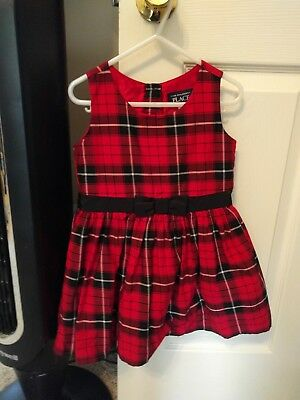 97dbc662eb00 BABY GIRL S GUESS Jumper Dress Size 3 Toddler 3T Black Gray White ...