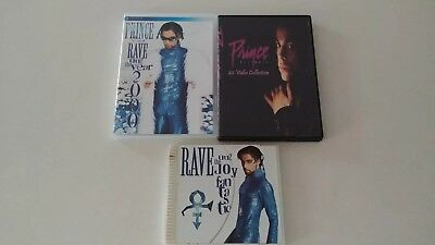 Prince Rave 2000 Concert, Rave CD, 40 Videos Collection