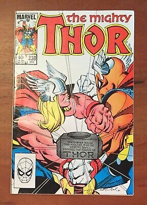 The Mighty Thor 338 Comic Book 2nd Appearance Beta Ray Bill