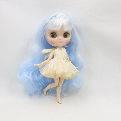 """8/"""" Neo Middie Blythe Doll Joint Body Nude Doll from Factory CA10005+Gift"""