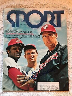 Sport Magazine May 1971 Issue - Ted Williams Autograph on Front Cover w/ CoA BB