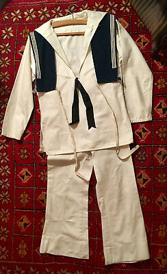 Vintage Boys Sailor Suit by M Berman Ltd, Leicester Square, WC2