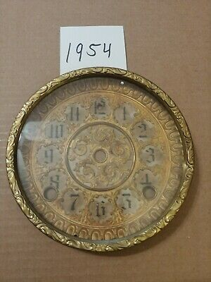 Antique Welch   Mantle Clock  Dial And Bezel With Glass