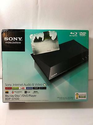 Sony Blu-ray Disc DVD Player BDP-S1100 Internet Audio & Video 2014 Version New