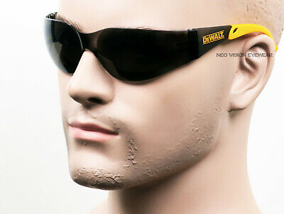 3 Pair/Pack Dewalt Protector Smoke/Gray Safety Glasses Sun Z87+