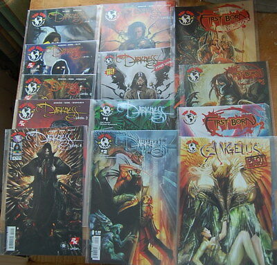 The Darkness First Born and Angelus comic collection