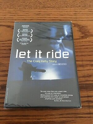 Let It Ride The Craig Kelly Story DVD Rare Brand New Sealed Snowboarding