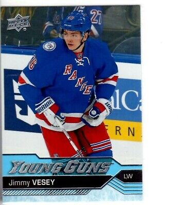 2016-17 Upper Deck Young Guns #218 Jimmy Vesey