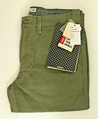 448e1047a0 BNWT VANS EXCERPT Mens Chino P Pegged Cuffed Chinos Joggers Trousers ...