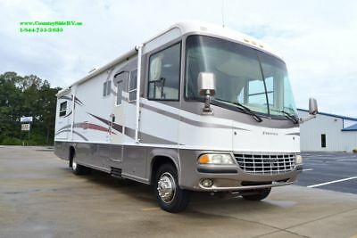 2003 JAYCO FIRENZA 33A CLASS A GM Workhorse Used Motor Home RV, Slides + Video