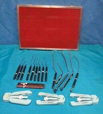Set of Laserscope Microstat Surgical Laser Bayonet Handpieces w/ Case