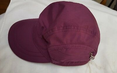 LULULEMON BASEBALL CAP Women s Purple Running Hat O S Adjustable ... 543730a7ffe