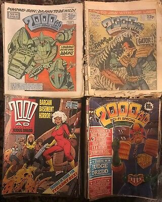 2000ad Comics Job Lot 239