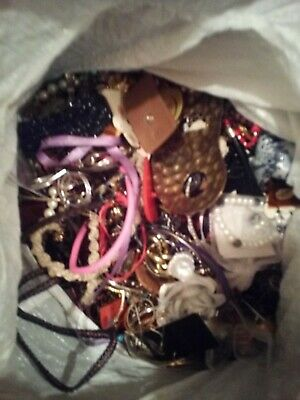 HUGE lot of vintage estate jewelry 25 LBS