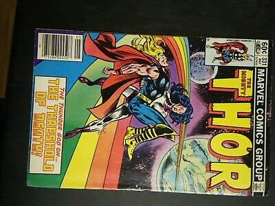 The Mighty Thor Comic Lot #331 #330 #335 #336 #337 #339 #340 #341 #399 Marvel