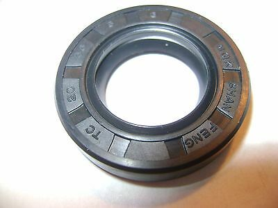 NEW TC 35X52X8 DOUBLE LIPS METRIC OIL DUST SEAL WITH GARTER SPRING