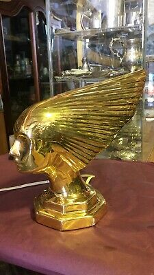 Vintage Art Deco Gold Lamp