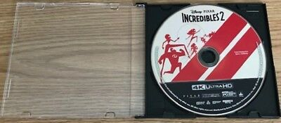 Brand New The Incredibles 2 4K Ultra HD Disk only