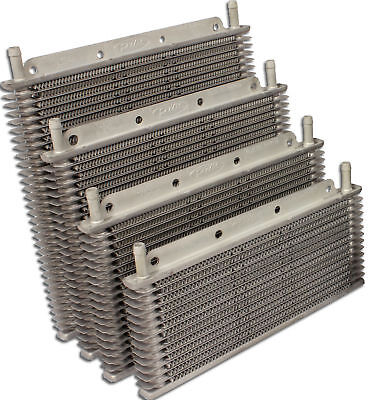 """TRANSMISSION OIL COOLER KIT - 280x110x19mm, 3/8"""" Barbs 12-Rows"""