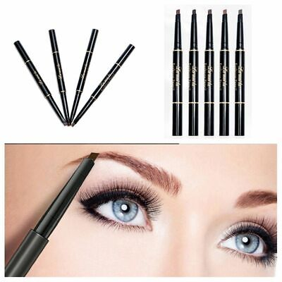 Waterproof Makeup Beauty Natural Automatic Eyebrow Pencil Brow Tint Double Head