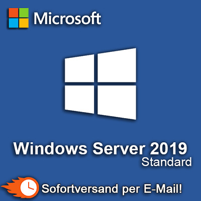 Windows Server 2019 Standard Produktkey Retail Blitzversand