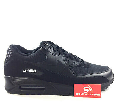 New NIKE AIR MAX 90 Essential - MEN'S Black/White Shoes d1