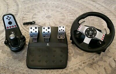 38057359dd7 LOGITECH G27 RACING Wheel with Shifter & Pedals Clean - $175.50 ...