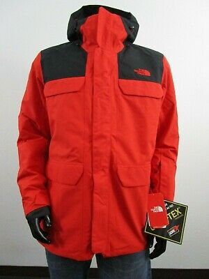b12056206 MENS L TNF The North Face Alligare Thermoball Gore-Tex Triclimate Jacket -  Red