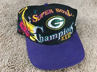 Vintage Green Bay Packers Super Bowl XXXI Hat Snapback Cap Logo Athletic  Favre 4219e0cd0