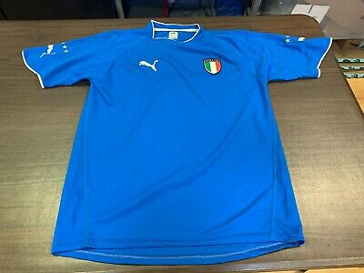 8f1362926e0 VINTAGE ITALY NATIONAL Team Premium Soccer Jersey Youth Large By ...