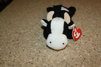 58022c05737 TY BEANIE BABIES DAISY THE COW 3rd Gen Hang Tag 1st Gen Tush Tag