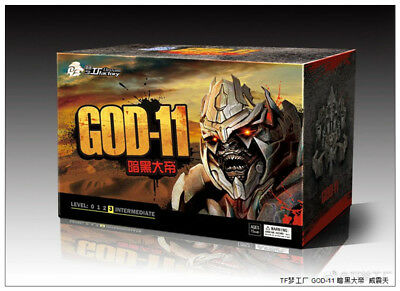 Transformers TOY TF Dream Studio GOD-11 MEGATRON MOVIE ACTION FIGURE new