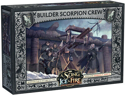 PREORDER - A Song Of Ice And Fire Tmg - Builder Scorpion Crew  - BRAND NEW