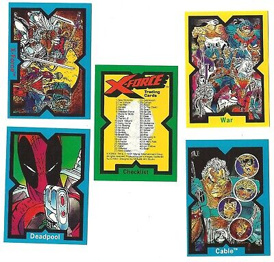 1991 Image Comics Marvel X-Force Cable Deadpool Complete Set 1-90 X-Men
