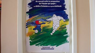 Affiche Michelin France 98 On Connait L Equipe Qui Gagne