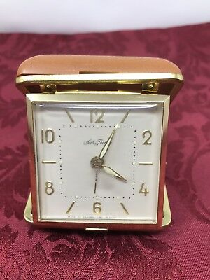 Antique Seth Thomas Wind Up Alarm Clock