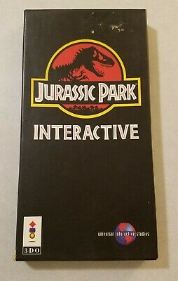 Jurassic Park Interactive (3DO, 1994) Box Only - No Game