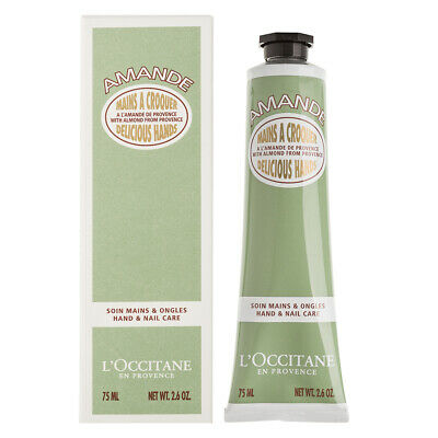 NEW L'Occitane Almond Delicious Hands Hand & Nail Care 75ml