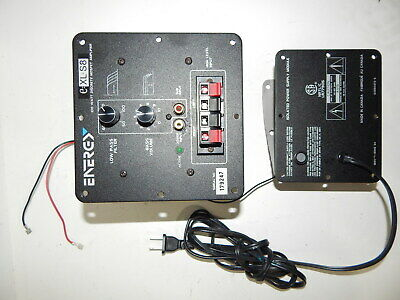 ENERGY E:XL S8 subwoofer plate amplifier with separate power supply  transformer