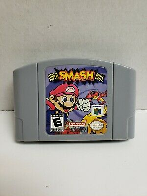 Super Smash Bros Game Cartridge Console Compatible for N64 - US VERSION