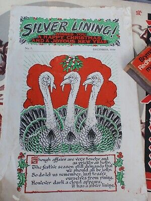 """1950  """"Silver Lining""""  booklet"""