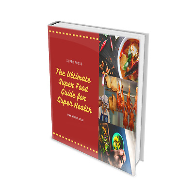 The Ultimate Super Food/DIET BOOK/WEIGHT LOSS/SLIMMING/ 3 Books Collection