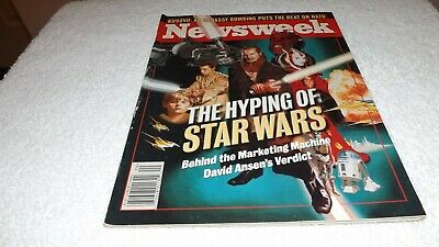 1999 Newsweek Magazine Featuring The Hyping of Star Wars, 92 pages
