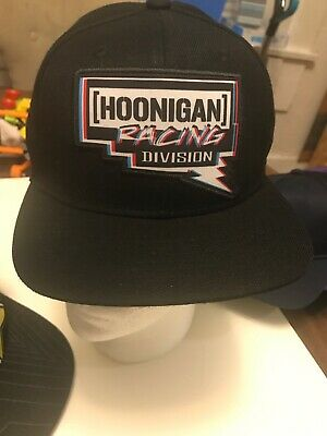 Hoonigan Racing Division Pennzoil Snap Back Baseball Hat Embroidered Cap 20f1c0ff81d9