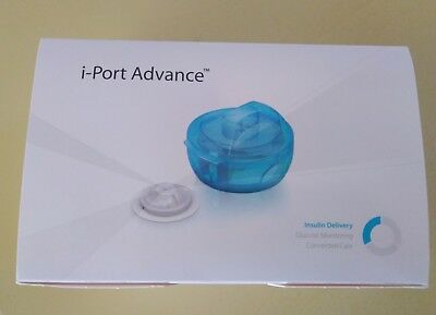 2 conf. I port Medtronic I-port 9mm porta diabete glicemia insulina indolore