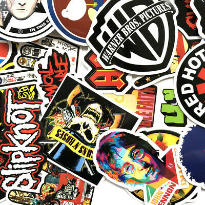 Lot 52 Random Vinyl Laptop Skateboard Stickers bomb Luggage Decals Dope Sticker