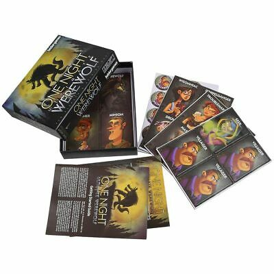 One Night Ultimate Werewolf Card Set Daybreak Party Board Game